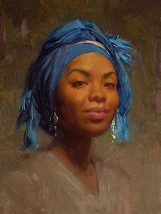 252 best Painted portraits of black people images on ...