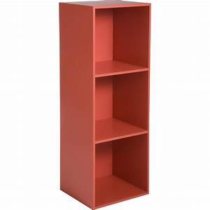 Cube De Rangement Leroy Merlin : etag re 3 cases multikaz rouge x x ~ Dailycaller-alerts.com Idées de Décoration
