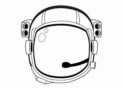 Helmet Space Spaceman Clip Astronaut Clipart Transparent
