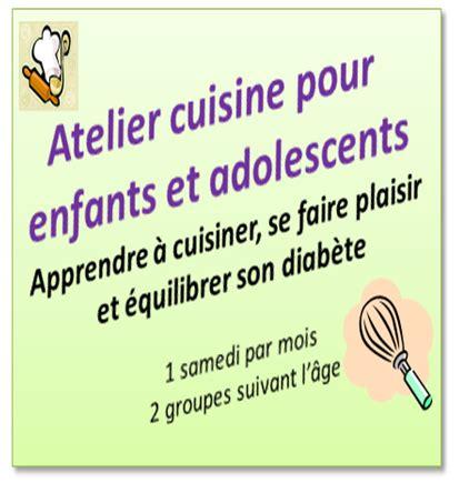 atelier cuisine pour enfants réseau diabolo ensemble apprenons l 39 équilibre