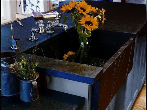 Soapstone Sink Cost by Granite Quartz And Soapstone Countertops Hgtv