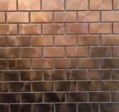 copper tiles for kitchen backsplash 1000 images about kitchen backsplashes on 8339