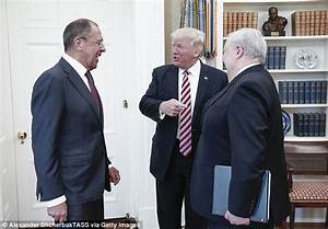 Trump meets Putin foreign minister & RUSSIA puts out photo ...