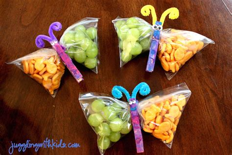 9 healthy school birthday treats your will actually like 853 | healthy school birthday treats Butterfly Snacks Juggling With Kids