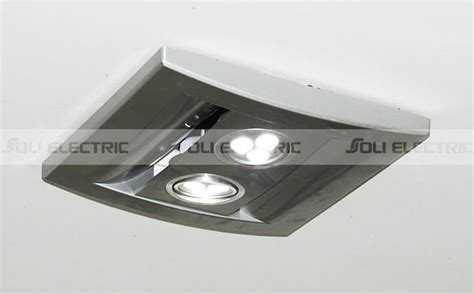 kitchen bathroom ceiling exhaust fan with led light view