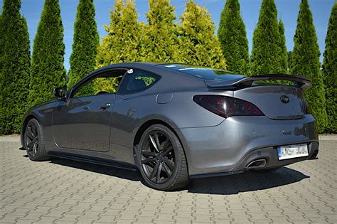 Side Skirts Diffusers Hyundai Genesis Coupe Textured