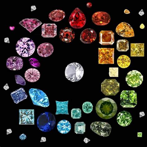 color diamonds colored diamonds are they real and are they valuable
