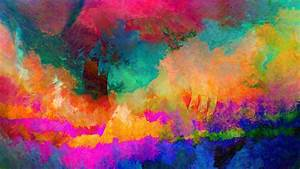 Wallpaper : painting, abstract, glitch art, LSD, texture ...
