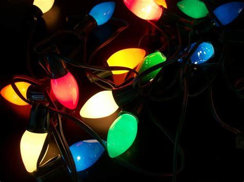 vintage string of 20 multi color christmas lights large