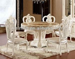 Table A Manger Marbre : deluxe ronde avec table et chaises de salle manger en marbre table et lazy susan table en bois ~ Teatrodelosmanantiales.com Idées de Décoration