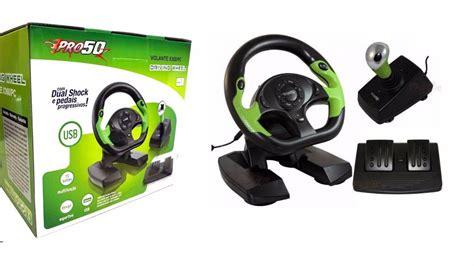 Volante Xbox 360 Pc by Volante Para Xbox 360 E Pc Usb Pro50 C Pedais E C 226 Mbio