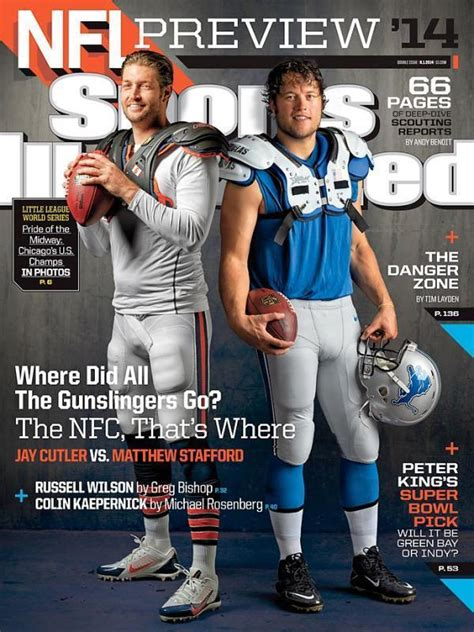 cutler stafford don cover  sports illustrated chicago
