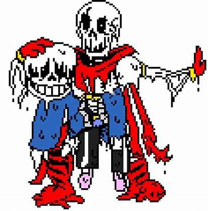 Sans Papyrus Bones Six Pixel Maker Pixelartmaker