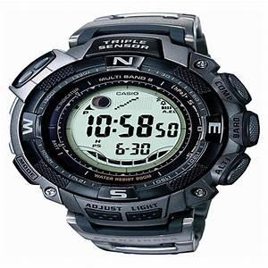 Men U0026 39 S Casio U00ae Pathfinder Waveceptor Solar Atomic Watch With