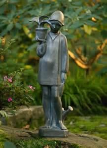 Little Bird Girl Statue