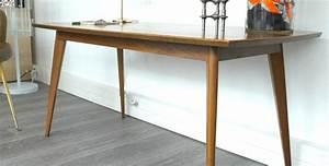 Table Pieds Compas : table basse rectangulaire danoise pieds compas 1960 vendue room 30 ~ Teatrodelosmanantiales.com Idées de Décoration