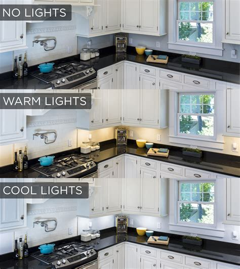 kitchen task lighting this cabinet lighting comparison shows the stark 3233