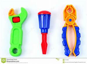 Toy tools stock image. Image of macro, wrench, cross ...