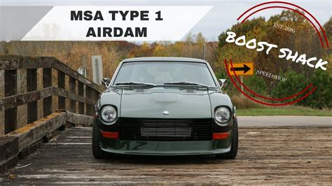 Msa Datsun by Installing Msa Type 1 Airdam On The Rb25 280z