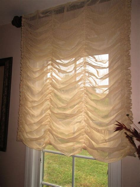 Curtain Shades by Austrian Balloon Shade Curtain Stationary In By