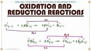 Oxidation And Reduction  Redox  Reactions
