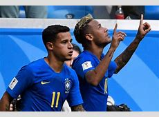 Brazil 20 Costa Rica result, FIFA World Cup 2018 football