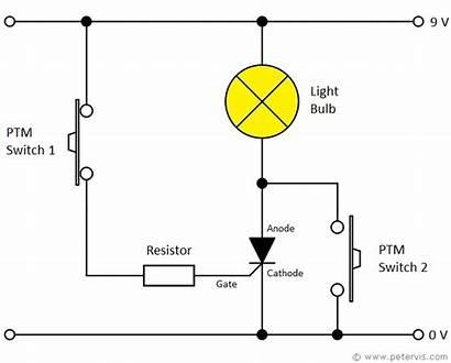 Torch Circuit Thyristor Circuits Electronic Bulb Control