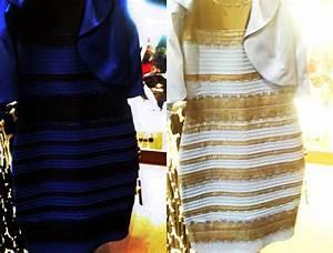 illusion doptique la robe bleu et noir modeles de robes With robe bleu et noir illusion