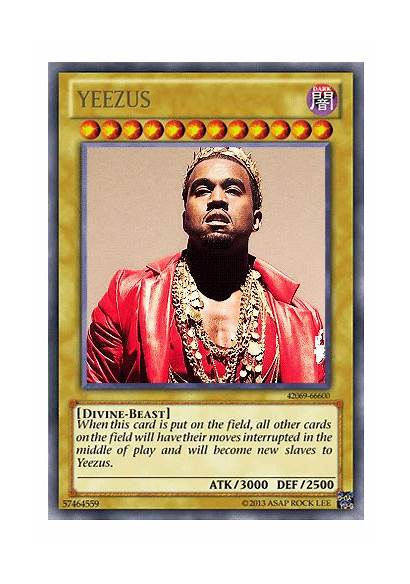 Kanye West Oh Yu Gi Yeezus Yugioh