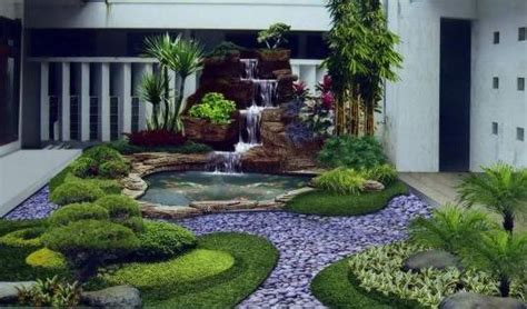 tips menata taman depan rumah terlihat indah