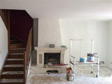 cacher cuisine ouverte couleur pour cheminée