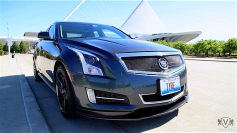 custom cadillac ats signature  edition  vogue tyre youtube