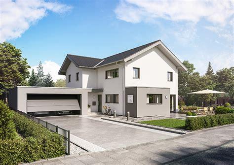 Haus Mit Doppelgarage by Gro 223 Z 252 Giges Einfamilienhaus Ohne Keller In Pforzen Ecobau