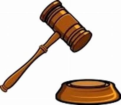 Hammer Clipart Clip Auction Court Clker