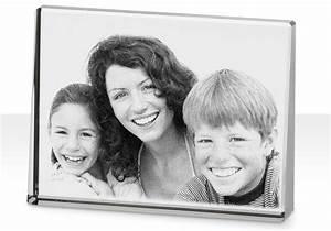 Cadre Avec Photo : photo grav e dans un cadre en cristal livr avec un crin cadeau ~ Teatrodelosmanantiales.com Idées de Décoration