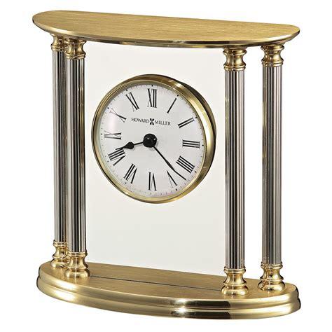 howard miller table clock howard miller new orleans mechanical table clock 645217