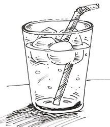 draw  glass  water real easy shoo rayner author
