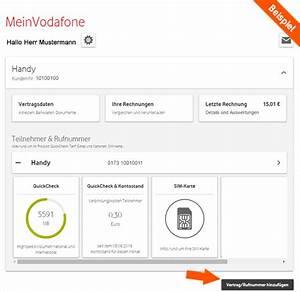 Meine Vodafone Rechnung : hilfe vertragsverwaltung meinvodafone ~ Themetempest.com Abrechnung