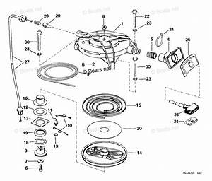 Evinrude Outboard Parts By Year 1999 Oem Parts Diagram For