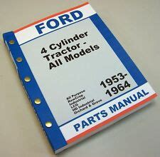 ford tractor manual ebay