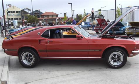 indian fire red  mach  ford mustang fastback