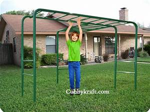 Tree Monkey Bars Playground Equipment from Cubbykraft