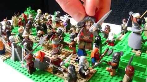 lego  hobbit battle   armies moc youtube