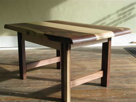 what is a live edge table live edge maple and walnut table