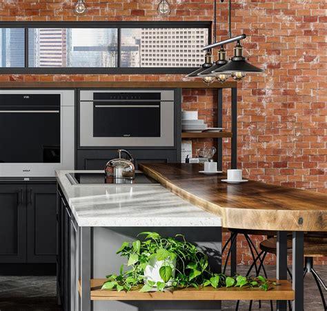 27+ Pleasing Kitchen Interior Loft