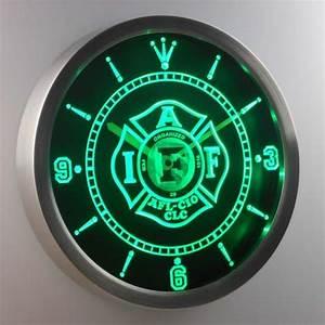 IAFF International Association of Fire Fighters LED Neon