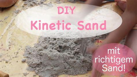 kinetic sand selber machen mit sand diy kinetic sand zaubersand mit echtem sand kokos 246 l moonsand knetsand selber machen