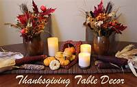 thanksgiving decorating ideas Cornucopia of Creativity: DIY Thanksgiving Table Decor