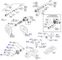 pegasus kitchen faucet replacement parts price pfister series 08 09 single handle tub shower parts