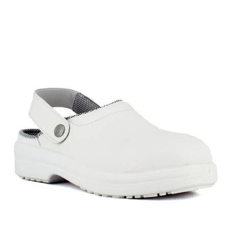 chaussures de cuisine homme sabot de sécurité cuisine blanc à partir de 36 95 ht